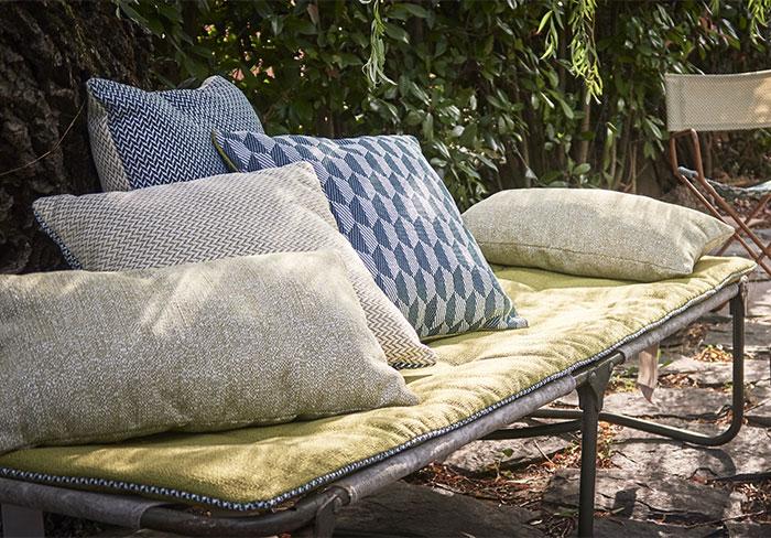 Ensemble outdoor pour banquette en palette, lit picot, ou lit de camp